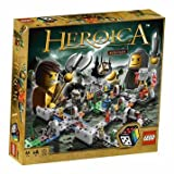 Distinctive Lego Games Heroica Castle (3860) - Limited Edition LEGO'BAG Bundle