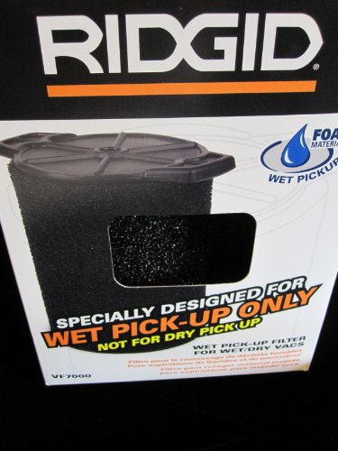 Ridgid VF7000 Wet Application Filter for Wet/Dry Vac (Lock Pick Wet compare prices)
