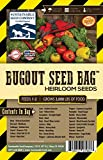 Survival Heirloom Seed Bag - 25 Varieties - Non-GMO Heirloom Seeds for Long-Term Storage or Instant Garden - in a Convenient Mylar Pouch
