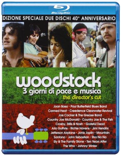 Woodstock (Director's Cut) (2 Blu-Ray) [Italian Edition]