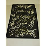 X-Games Autographed Signed Brand-new Black Kryptonics Skateboarding Ramp Featuring 30 Signatures... by Southwestconnection-Memorabilia