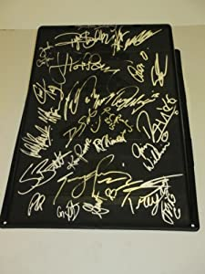 X-Games Autographed Signed Brand-new Black Kryptonics Skateboarding Ramp Featuring 30... by Southwestconnection-Memorabilia