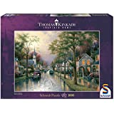 Schmidt 58441 Classic Puzzle - Hometown Morning by Thomas Kinkade