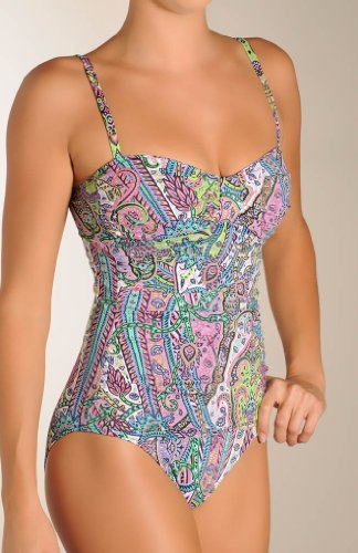 Tommy Bahama Grace Bay Island Foam Cup 1pc with Beads Swimsuit (60112P)