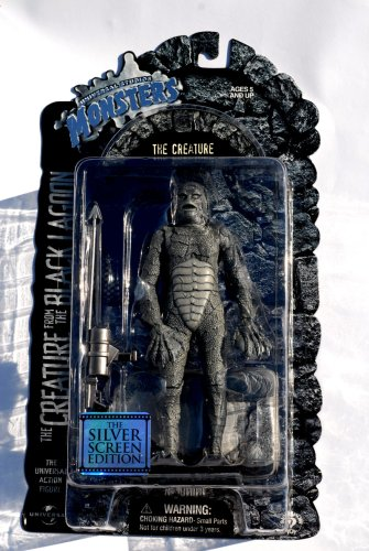 Buy Low Price Sideshow Universal Studios Monsters THE CREATURE FROM THE BLACK LAGOON Universal Studios Classic Monster Silver Screen Edition Action Figure (B0012XZFZY)