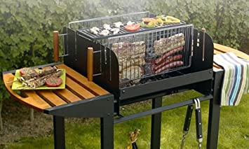 barbecue vertical amazon. Black Bedroom Furniture Sets. Home Design Ideas
