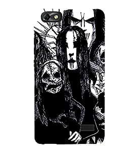 EPICCASE the ghost Mobile Back Case Cover For Xiaomi Redmi Mi4i (Designer Case)