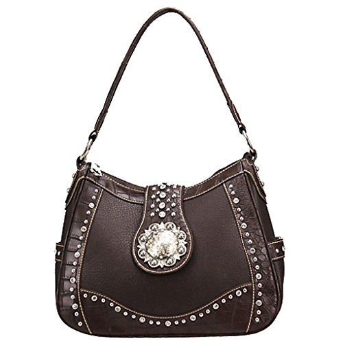 silver-fever-damen-schultertasche-0-one-size-braun-coffee-grosse-one-size