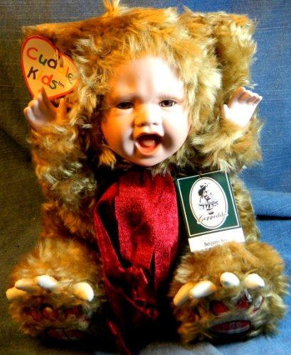 "Geppeddo Porcelain Doll ""Benjamin Bear"" - 1"
