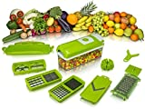 Genius Nicer Dicer New ABS Quality 12 piece Nicer Dicer Set