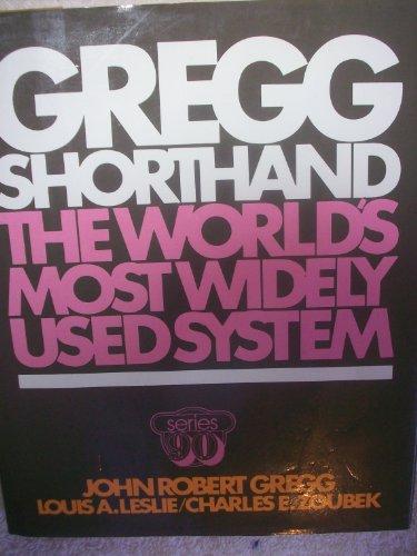 Gregg Shorthand, Series 90