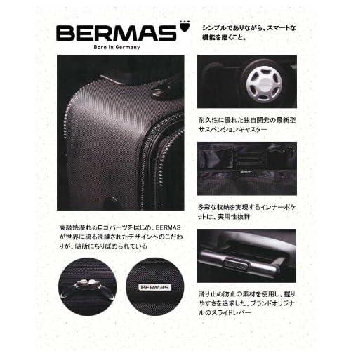 [バーマス]BERMAS キャリーバッグ ビジネスバッグ 2輪キャスター 24L TSAロック 60121