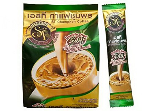 NEW TOP BRAND AWARDS Premix Instant Coffee Double Shot formulation 100% Robusta, Green (Davidoff Hot Water Set compare prices)