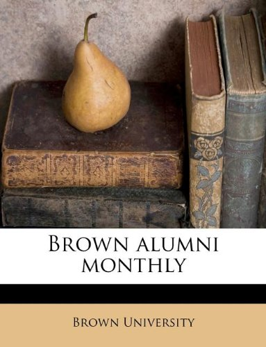 Brown alumni monthly