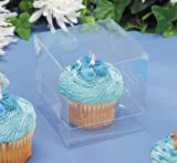Individual Clear Cupcake Box - 12 pack