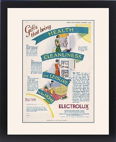 Framed Print Of Electrolux Appliances front-590718