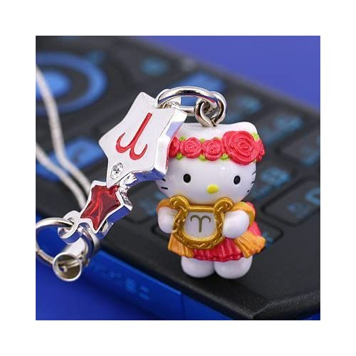 Sanrio Hello Kitty Astrologic Venus Star Charm Cell Phone Strap (Aries)   Japanese Import Free Domestic Shipping for This Item