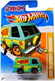 SCOOBY-DOO! THE MYSTERY MACHINE Hot Wheels 2012 New Models Series #38/50 Scooby Doo Mystery Machine 1:64 Scale Collectible Die Cast Car