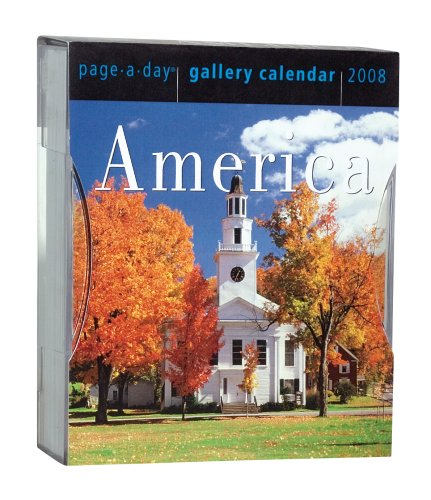 America Page-A-Day Gallery Calendar 2008