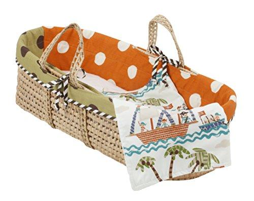 Cotton Tale Designs Moses Basket, Aye Matie - 1