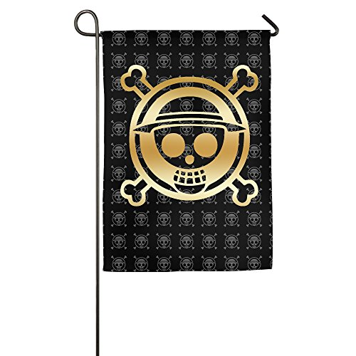 One Piece Luffy Gold Logo Garden Flag (Chopper Stopper compare prices)