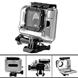 Joyoldelf Skeleton Protective Housing compatible with Lens for all GoPro Hero4 Hero3 Hero3+ cameras