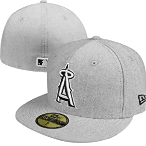 Los Angeles Angels of Anaheim New Era MLB Flip Up Tropic 59Fifty Fitted Hat 7 3  by New Era