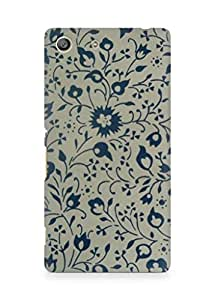 Amez designer printed 3d premium high quality back case cover for Sony Xperia M5 (Vintag pattern 2)