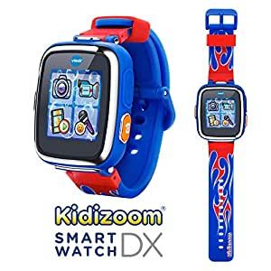 VTech V Tech Kidizoom Smartwatch Dx Special Edition Red Flame With Bonus Royal Blue Wristband