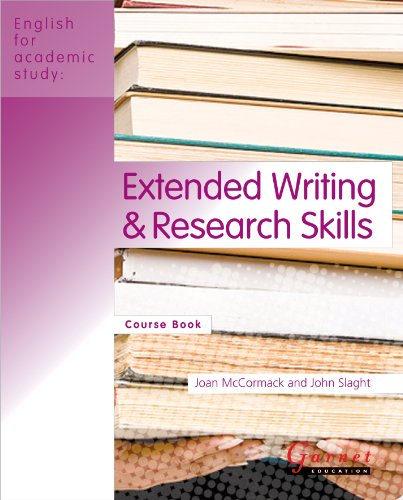 Extended Writing and Research Skills: Course Book (English for Academic Study)