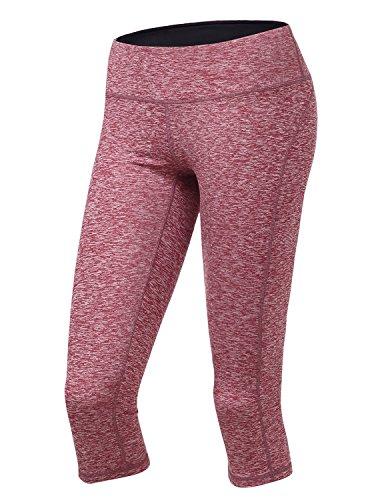 Yoga Reflex - Leggings sportivi - Pantaloni  -  donna CWBMP08_Red_LOW RISE X-Small