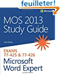 MOS 2013 Study Guide for Microsoft Wo...