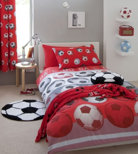Red Duvet Cover Twin front-122682