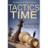 Tactics Time! 1001 Chess Tactics from the Games of Everyday Chess Players (Tactics Time Chess Tactics Books) ~ Tim Brennan