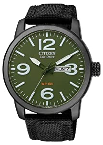 Citizen Herren-Armbanduhr XL Analog Quarz Nylon BM8476-15XE
