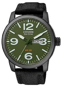 Citizen Herren-Armbanduhr XL Analog Quarz Nylon BM8476-15XE