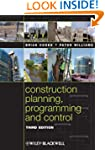 Construction Planning, Programming an...