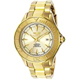 Invicta Pro Diver Ocean Ghost 23k Gold Plated Automatic Date Watch 7039