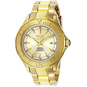 Invicta Ocean Ghost III Gold Tone Automatic Gold Dial