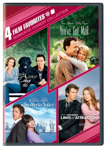 Romantic Comedy: 4 Film Favorites (Must Love Dogs / You've Got Mail / Two Weeks Notice / Laws of Attraction)