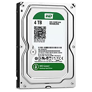 WD Green 3.5inch IntelliPower 4.0TB 64MBキャッシュ SATA3.0 WD40EZRX-DS/N