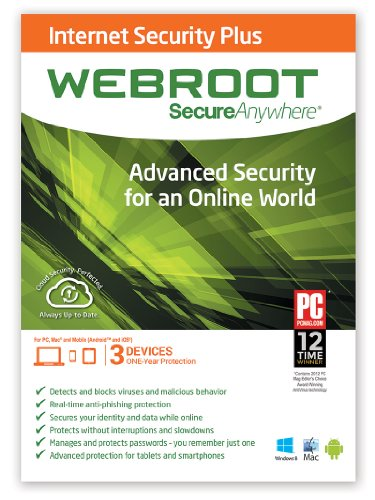 Webroot SecureAnywhere Internet Security Plus