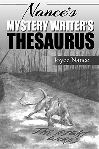 Book: Nance's Mystery Writer's Thesaurus by Joyce Nance