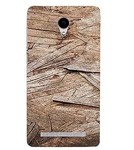 PrintVisa Wooden Design 3D Hard Polycarbonate Designer Back Case Cover for VivoY28