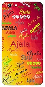 Ajala (Popular Girl Name) Name & Sign Printed All over customize & Personalized!! Protective back cover for your Smart Phone : Samsung Galaxy Note-5