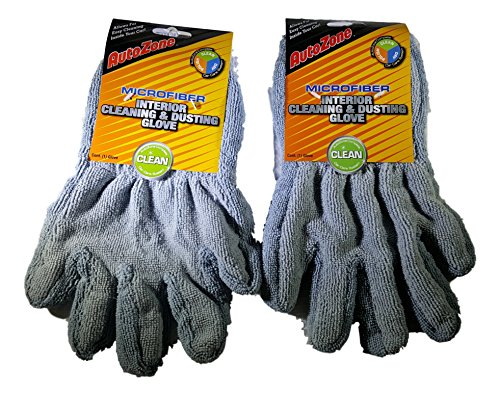 autozone-microfiber-interior-cleaning-dusting-glove-complete-car-care-system-bundle-of-2