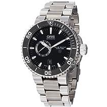 Oris Aquis Titan Automatic Black Dial Titanium Mens Watch 743-7664-7154MB