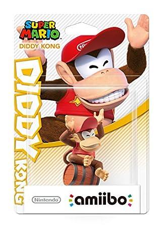 Nintendo - Figura amiibo Diddy Kong (Colección Mario)