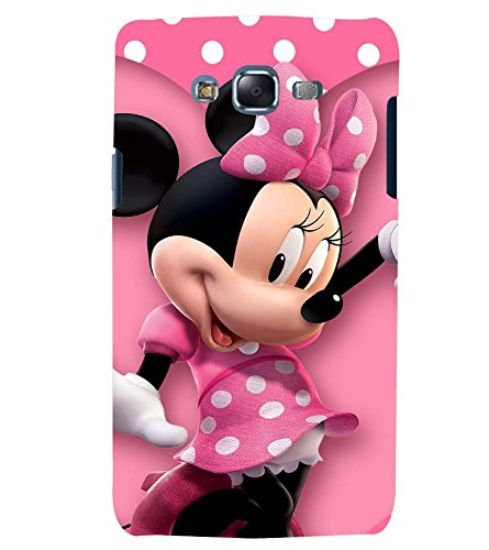 super popular ae60c 2905b Printvisa Premium Back Cover Polka Dot Pink Mickey Mouse Design For Samsung  Galaxy J7::Samsung Galaxy J7 J700F