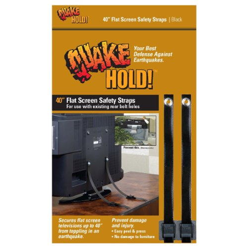 Quakehold! 4515 40-Inch Flat Screen TV Safety Strap